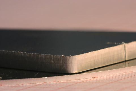 cięcie laserem aluminium